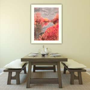 Home deco decoration riverside painting photography